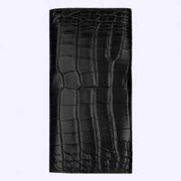 Bao da cá sấu màu đen huyền có nắp dành cho New Signature Touch 2