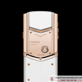 Vertu Mới Signature WHITE RED GOLD DIAMONDS  2016 04