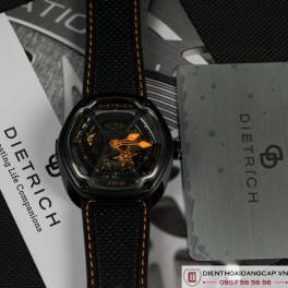 DIETRICH OT6 on Orange Stitching and Perforated Leather Strap - 01