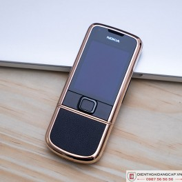 Nokia 8800 vàng hồng da đen 2