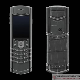 Vertu mới Signature ZIRCONIUM ALLIGATOR 2016 5