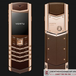 Vertu mới Signature DESIGN PURE CHOCOLATE RED GOLD 2016