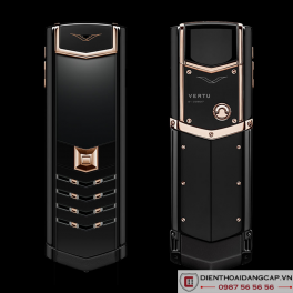 Vertu cũ Signature S Red Gold Ultimate Black 01