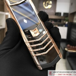 Vertu Signature S DESIGN ROSE GOLD BLACK DLC 02