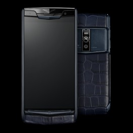 Vertu mới New Signature Touch PURE NAVY ALLIGATOR 2016