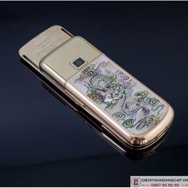 Nokia 8800 Vàng hồng long phụng đính đá 3