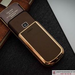 Nokia 8800 vàng hồng da nâu full đá 4
