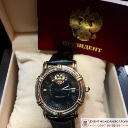 POLJOT Russian Time Mechanical Automatic President Black 02