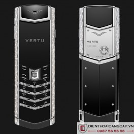 Vertu mới Signature S WHITE GOLD DIAMOND 2016 01