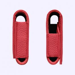 Bao da bê kiểu ví màu đỏ hồng cho Vertu Aster 4