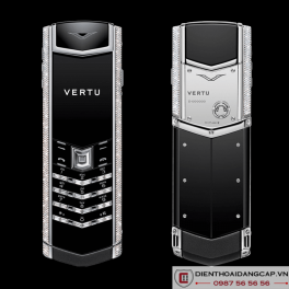 Vertu Mới Signature S WHITE GOLD DIAMOND BAG KEYS 2016 01