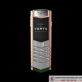 Vertu Mới Signature S ROSE GOLD HUNTER GREEN ALLIGATOR 02
