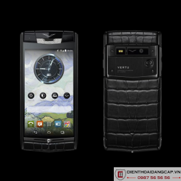 Vertu Signature Touch Pure Jet Alligator Diamonds 2016 Mới 100%