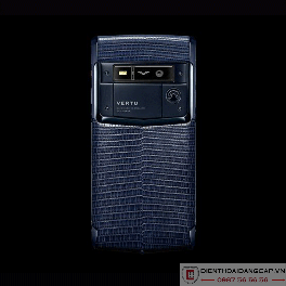 Vertu Signature Touch Pure Navy Lizard 2016 Mới 100%-02