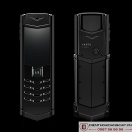 Vertu Mới Signature BLACK DLC STAINLESS CERAMIC 01