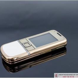 Nokia 8800 vàng hồng da trắng 4