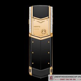 Vertu Mới Signature S YELLOW GOLD DIAMOND BAG KEYS 2016 04