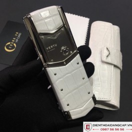 Vertu cũ Signature S White Mother Of Pearl 04