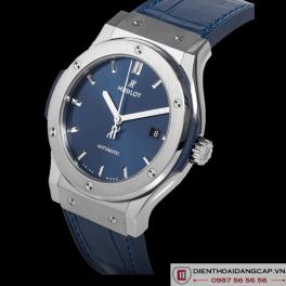 HUBLOT Classic Fusion Automatic Blue Sunray Dial Titanium 42mm 542.NX.7170.LR -01
