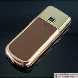 Nokia 8800 Vàng hồng nâu gold phím đá 3