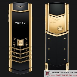 Vertu mới Signature DESIGN YELLOW GOLD 2016
