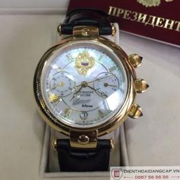 POLJOT PRESIDENT Putin Chronograph Blue Sapphire Limited Edition 01