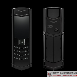 Vertu cũ Signature S Ultimate Black Fullbox Likenew 01