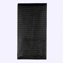 Bao da thằn lằn màu đen huyền có nắp dành cho New Signature Touch 2