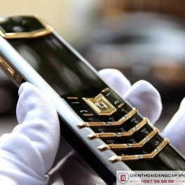 Vertu cũ Signature S Yellow Gold Mixed Metal 04