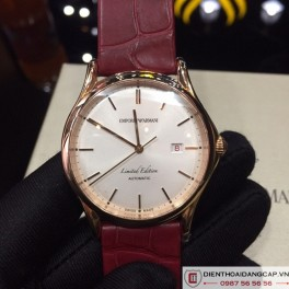 EMPORIO Armani Red Leather Swiss made - 03