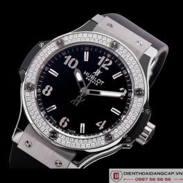 Hublot Big Bang Steel Diamonds 01