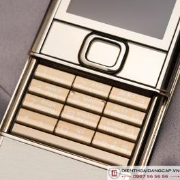 Nokia 8800 Vàng hồng da trắng 4Gb nguyên bản chính hãng 03