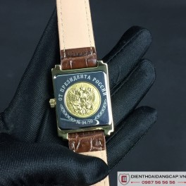 RUSSIAN PRESIDENT PUTIN Poljot Mechanical Self-winding Brown -03