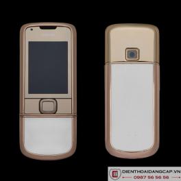 Nokia 8800 Vàng hồng da trắng 4Gb nguyên bản chính hãng 01
