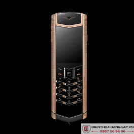 Vertu mới Signature DESIGN CLOUS DE PARIS RED GOLD 2016 02