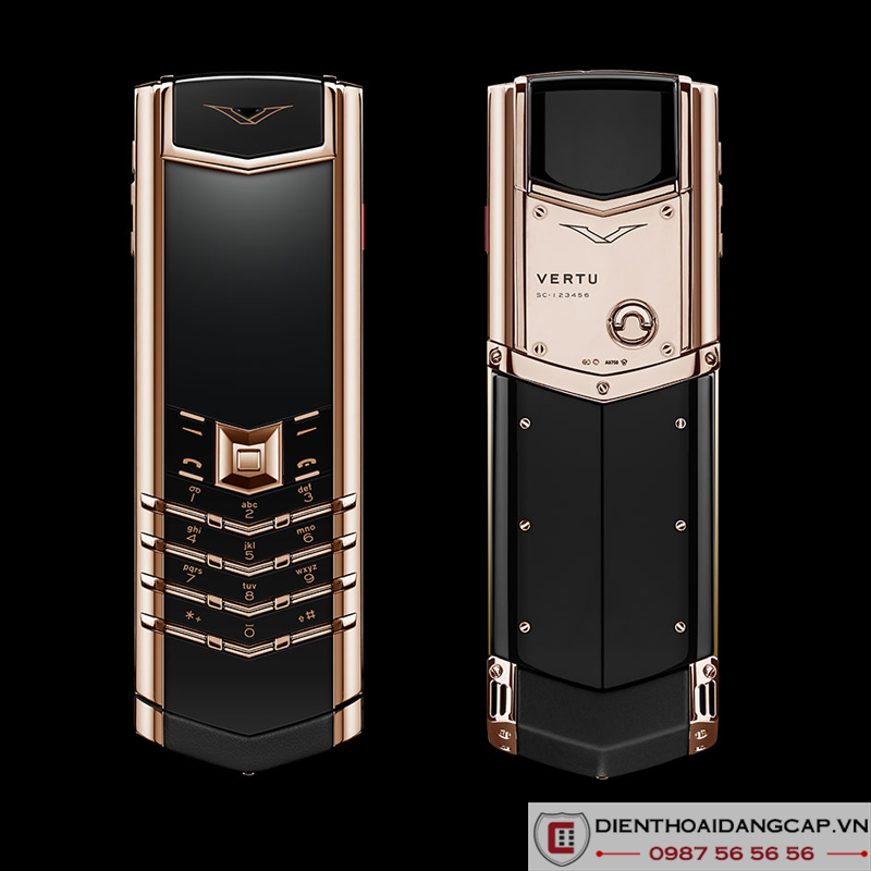 Vertu Mới Signature ROSE GOLD 2016
