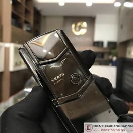 Vertu cũ Signature S Ultimate Black Fullbox Likenew 04