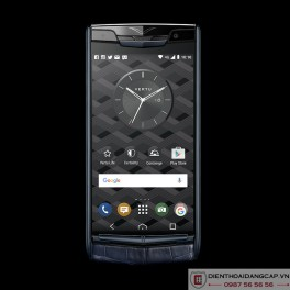 Vertu mới New Signature Touch PURE NAVY ALLIGATOR 2016 1