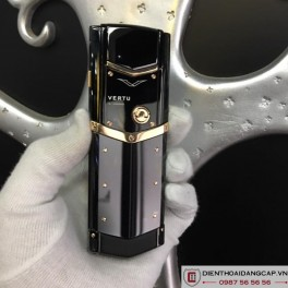 Vertu cũ Signature S Red Gold Ultimate Black 05