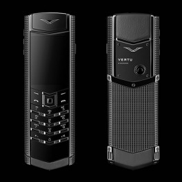 Vertu mới Signature CLOUS DE PARIS PURE BLACK 2016