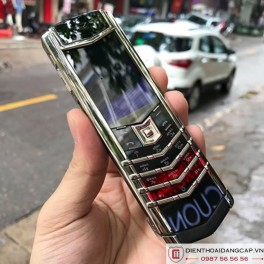 Vertu cũ Signature S White Gold 02