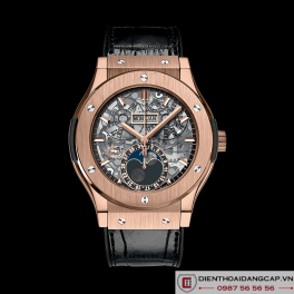 Hublot Classic Fusion Aerofusion Moonphase King Gold 01