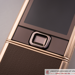 Nokia 8800 Vàng hồng da nâu chính hãng 03