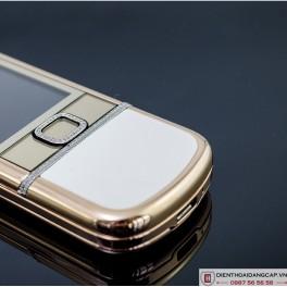 Nokia 8800 vàng hồng da trắng 3