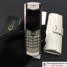 Vertu cũ Signature S White Mother Of Pearl 02