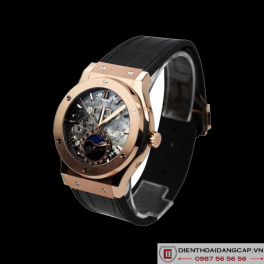Hublot Classic Fusion Aerofusion Moonphase King Gold 03