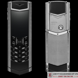 Vertu cũ Signature S Clous De Paris Stainless Steel 01