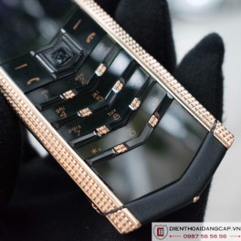 Vertu cũ  Signature S Clous De Paris Rose Gold 03