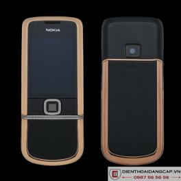 Nokia 8800 Vàng hồng da đen full đá chính hãng 01