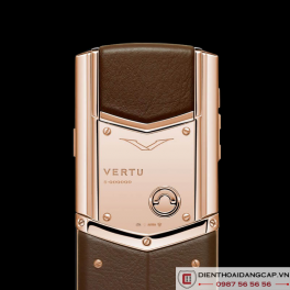 Vertu Mới Signature DESIGN PURE CHOCOLATE RED GOLD 2016 03
